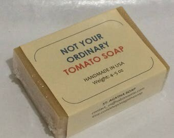 "Not Your Ordinary ""TOMATO SOAP"""