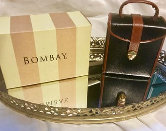 Bombay Leather Travel Jewelry Box