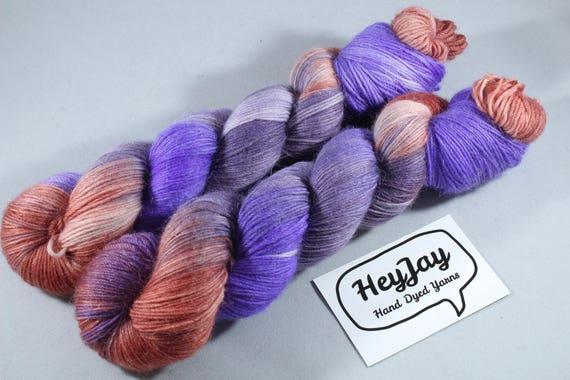 Hand Dyed Alpaca/Merino/Nylon Sock Yarn - Harvest Pie
