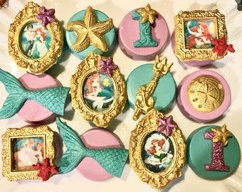 Ariel, Under The Sea Chocolate Covered Oreo's, Little, Mermaid, Princess