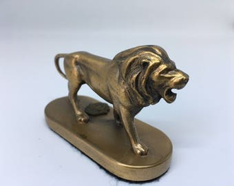Danbury Lions International Bronze Lion Statuette