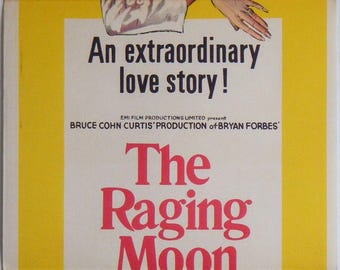 The Raging Moon - 1971 - Original Australian daybill movie poster - Malcolm McDowell
