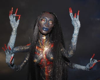 Dream Nagi - ooak hand made horror fantasy sculpture