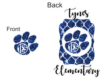 Tynes Elementary Glitter Tee or hoodie
