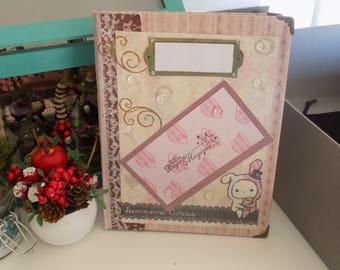 handmade notebook handmade sentimental circus