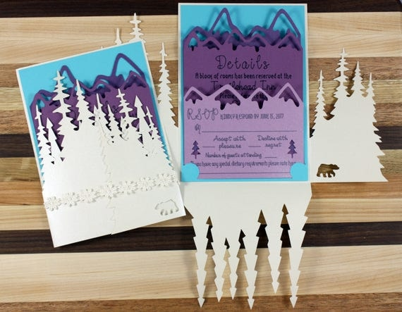 Winter Wedding Invitation Suite - Sample