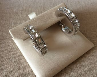 Yves Saint Laurent Vintage Hoop Earrings