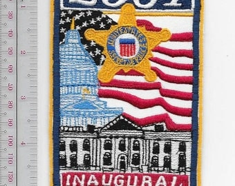 US Secret Service USSS Washington President George W Bush Protection Division 2001 Inaugural Patch