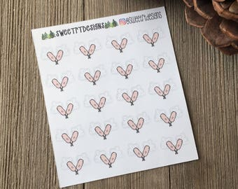 Functional Dusting Planner Stickers