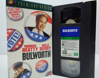 bulworth VHS Tape
