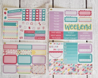 NO CODES PLEASE! Tea Party Mini Kit | Made to fit any planner! 617L
