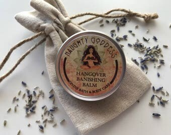 Bachelorette Part Favors | Hangover Banishing Balm| Headache Relief Balm| Wedding Favors| 21st Birthday| Aromatherapy Balm| Stocking Stuffer
