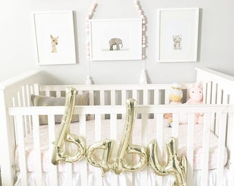 Script Baby Balloon // Rose Gold Baby Balloon // Blue Baby Balloon // Rose Gold Script Baby Balloon // Blue Script Baby Balloon
