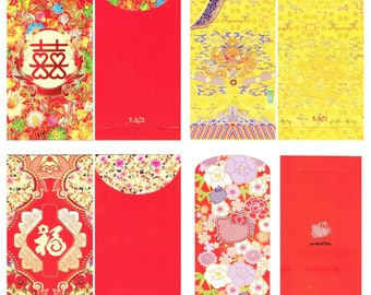 Chinese Lucky Money Envelopes - Hong Bao-Lai See-Money Packet