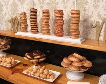 Donut Bar, Donut Party, Donut Holder Holds between 10-50 on each item, 10 Colors