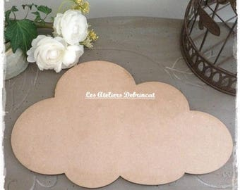 Cloud blank tall 18.5 cm width 29.5 cm thickness 6mm