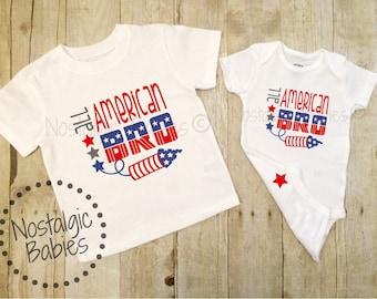 Boys July 4th Shirt, All American BRO, July 4th Boy Shirt, 4th of July Sunglasses 4th of July outfit, Sunglasses shirt, Merica