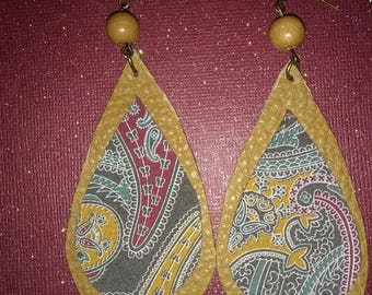 Leather/Suede Earrings