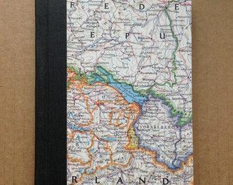 Reading Journal - Switzerland Map- Book journal, Reading Diary, Reading Notebook, Summer Reading, Reading Tracker, Reading List