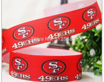 San Francisco 49ers Grosgrain Ribbon
