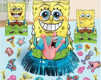 Spongebob squarepants table centerpiece