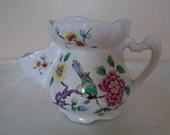 old  Foley James Kent Chinese rose shaving mug