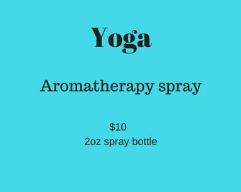 Yoga Room and Body Spray