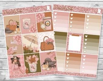 FALL in love planner sticker kit