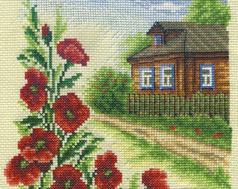 Cross Stitch Kit Summer
