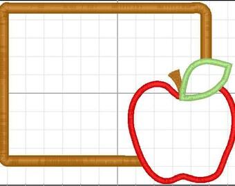 chalkboard apple school shirt - back to school shirt - 1st day of school shirt - first day of school shirt - apple school shirt