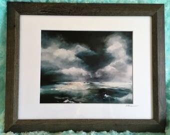 "On the Horizon (Print, 8""x10"")"