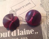 2  Celluloid Buttons. Shi...