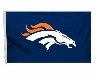 Denver Broncos Flag 3 x 5 Banner Flag NFL