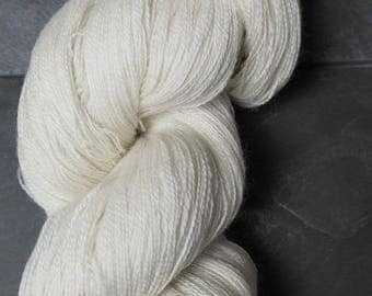 Baby Suri, Merino and Silk Natural Skein