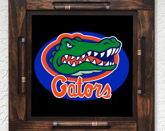 Wooden/wood domino table top-Florida Gators-Made in USA