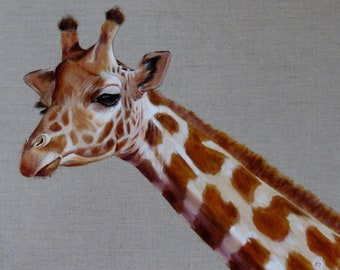 Giraffe - Original painting