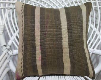 16x16 kilim cushion covers body pillow caseethnic pillow 16x16 wool pillow turkish cushions 16x16 bohemian throw pillows pillow covers 3466