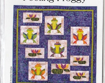 SALE** Feeling Froggy - Pattern - by Southwind Designs - Ribbit!