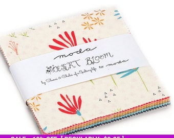 SALE! Desert Bloom - Charm Pack- Moda - by Sherri & Chelsi of a Quilting Life