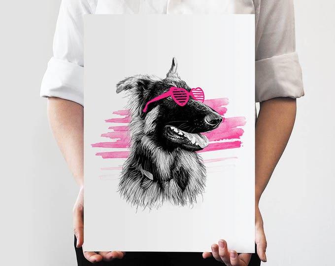 Pet Portrait SEMI COLOUR