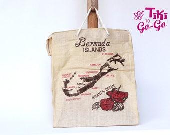 Oh Bermuda! : Vintage Mesh Market Bag