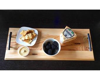 Custom Wood Serving Tray