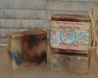 Connecticut Nutmeg State handmade soap