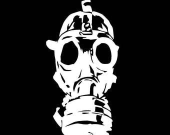 Walking Dead Zombie Gas Mask