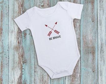 Be Brave Baby Bodysuit