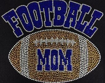 Football Mom Hooded T-Shirt