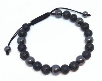Black hematite
