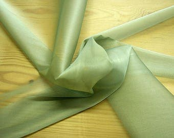 232092-Organdy natural Silk Cangiante 100%, litmus, width 135/140 cm, made in Italy, dry cleaning, weight 55 gr