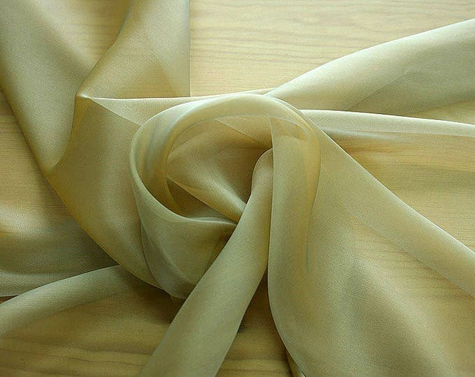 232093-Organdy natural Silk Cangiante 100%, litmus, width 135/140 cm, made in Italy, dry cleaning, weight 55 gr