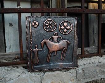 Copper Relief Art - Return